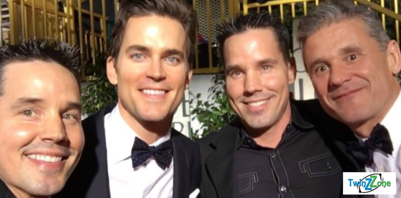 Matt Bomer and Simon Hall