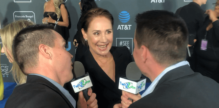 Laurie Metcalf at Critics Choice Awards 2019
