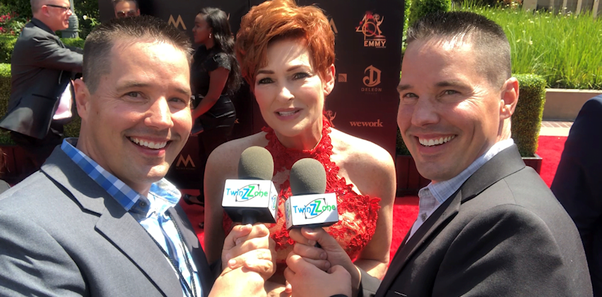 Carolyn Hennesy at Daytime Emmy Awards 2019