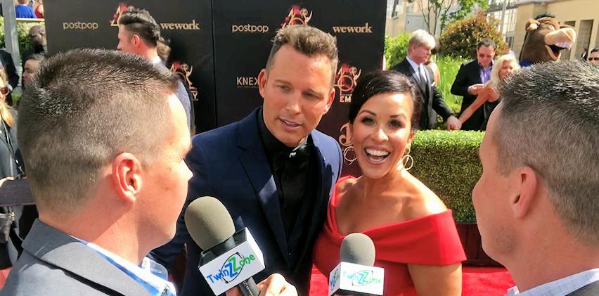 Eric Martsolf at 2019 Daytime Emmy Awards