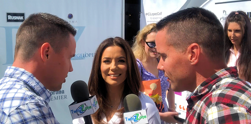 Eva Longoria at the George Lopez Celebrity Golf Tournament